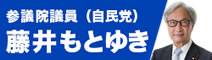 参議院議員(自民党)藤井もとゆき